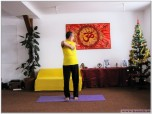 KATICHAKRASANA - Postura Roții lombare