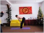 UDDHYANA BANDHA - Retracția abdominală