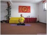 PADMASANA - Postura Lotusului - cu execuția lui Kshepana Mudra