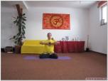 PADMASANA - Postura Lotusului - cu execuția lui Uttarabodhi Mudra