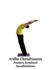 Ardha Chandrasana - Postura Semilunii