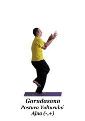 Garudasana - Postura Vulturului