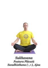 Sukhasana - Postura Placuta