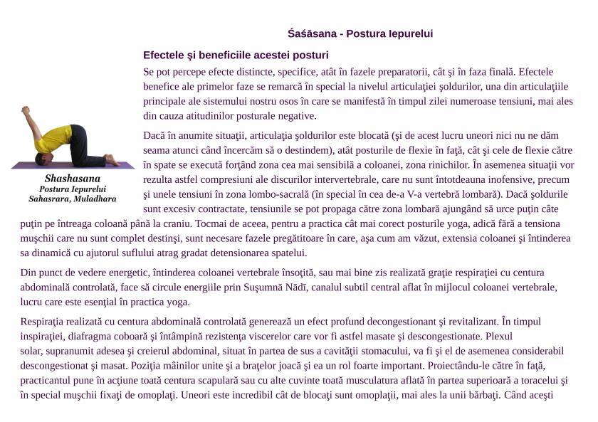 Brosura Efecte si beneficii ale posturilor Yoga Landscape cu poze_42
